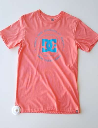 Camiseta DC REBUILT XVIII Orange