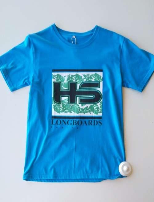 Camiseta HS Tarifa Longboards Blue & Green