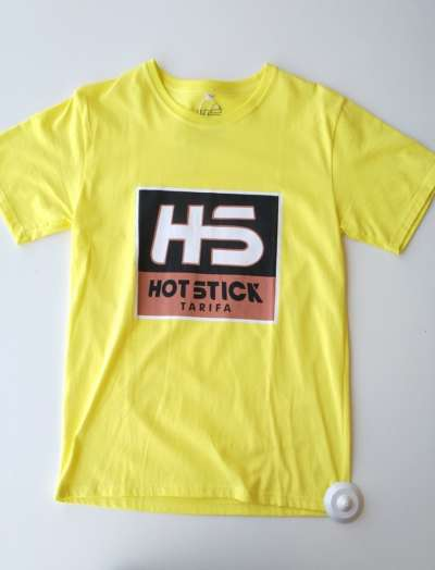 Camiseta Hotstick Tarifa Box Logo Yellow
