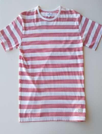 Camiseta Loreak Mendian Striped Red