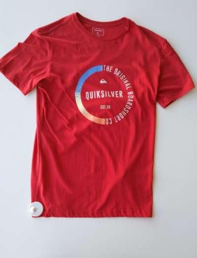 Camiseta QuickSilver The original board company Red