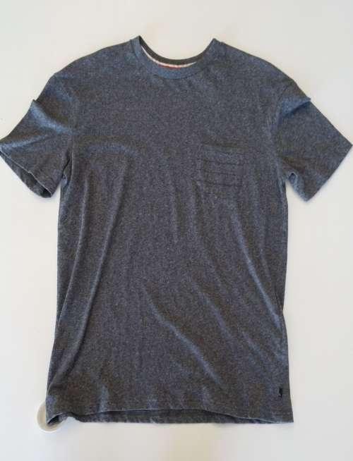 Camiseta QuickSilver pocket The original board Company Gray