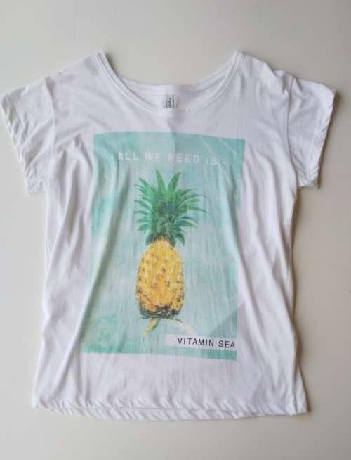 Camiseta Blend Vitamin Sea White
