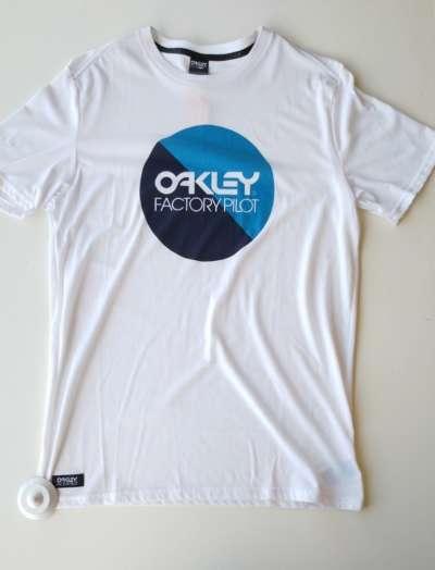 Camiseta OAkley Factory Pilot White