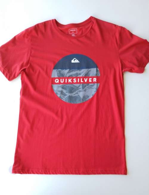 Camiseta QuickSilver The original Board co Red