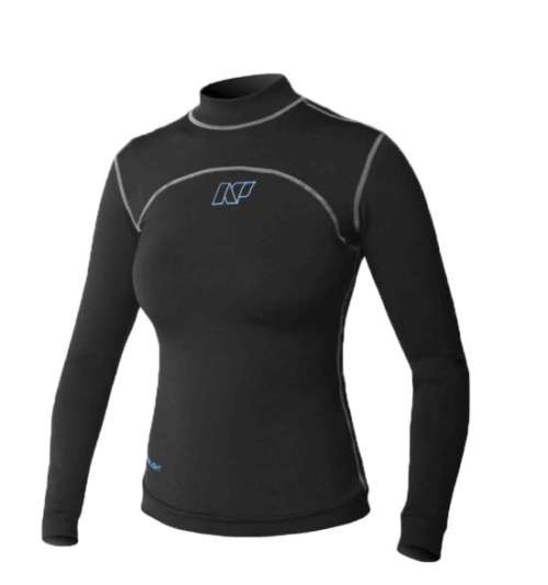 FEATURES Long Sleeve Polypropylene brushed inner fleece 4-way stretch UPF 50+ Smooth skin waist seal Boardshort attachment loop